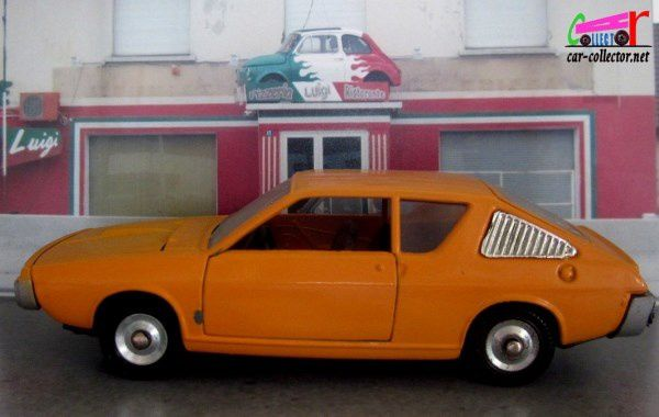 RENAULT 17 TS ORANGE DINKY TOYS 1/43