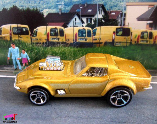 68 CORVETTE GAS MONKEY GARAGE HOT WHEELS 1/64