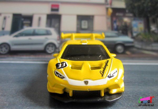 LAMBORGHINI HURACAN LP 620-2 SUPER TROFEO HOT WHEELS 1/64