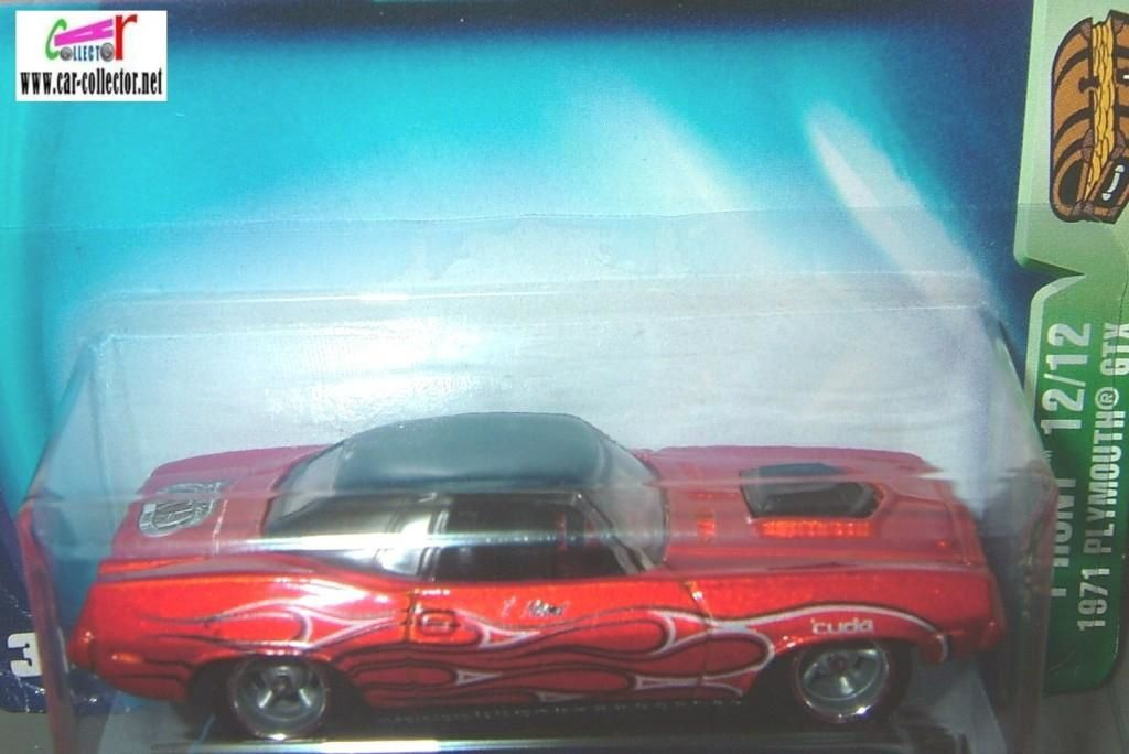 1970 PLYMOUTH BARRACUDA HARD TOP HOT WHEELS 1/64