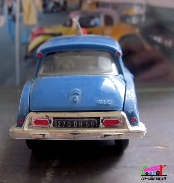 CITROEN DS 19 GENDARMERIE NATIONALE NOREV 1-43