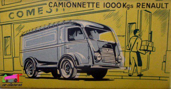 CAMIONNETTE RENAULT 1000 KGS PTT BELGE C.I.J 1/45