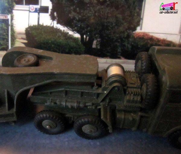 Camion Berliet T6 Semi Remorque Militaire Porte Char Dinky