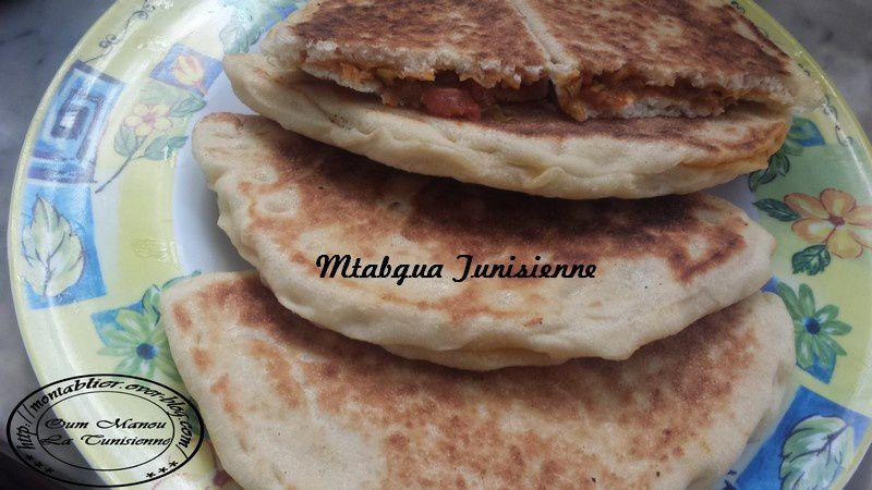 Mtabgua (pain farcie)