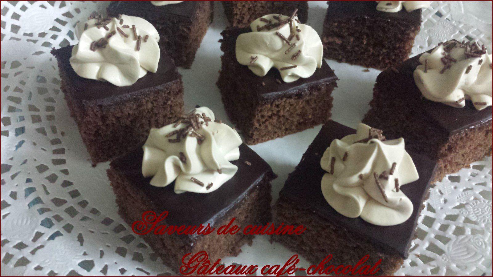 Gâteau café-chocolat