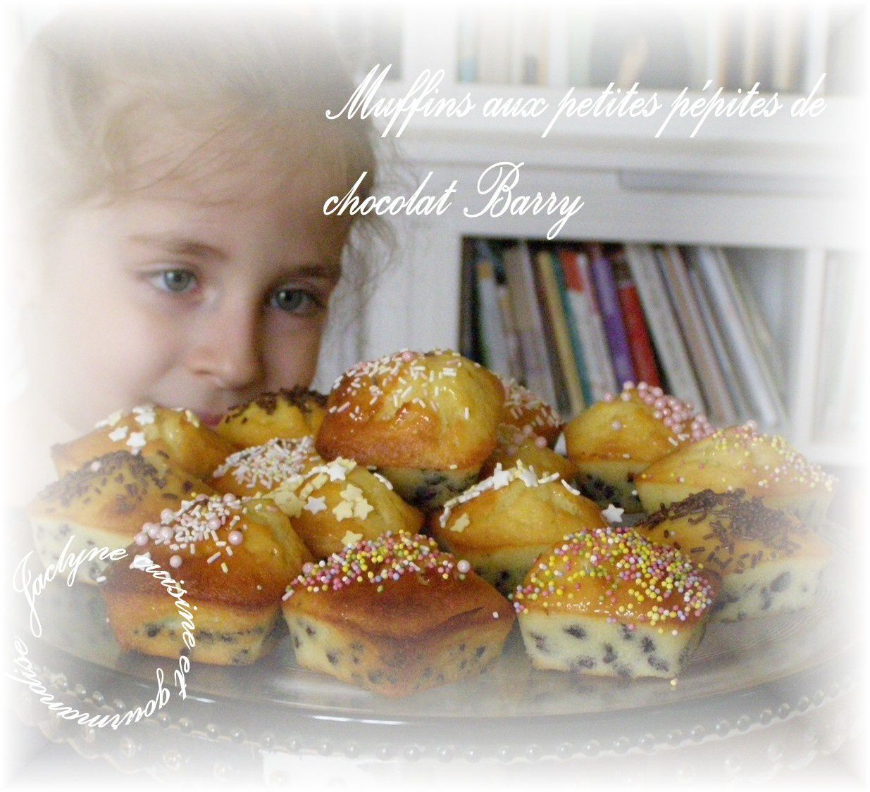 Muffins saveur citron aux pépites de chocolat Barry Lilou ma petite fille de 5 ans en fera son goûter Jaclyne cuisine et gourmandise
