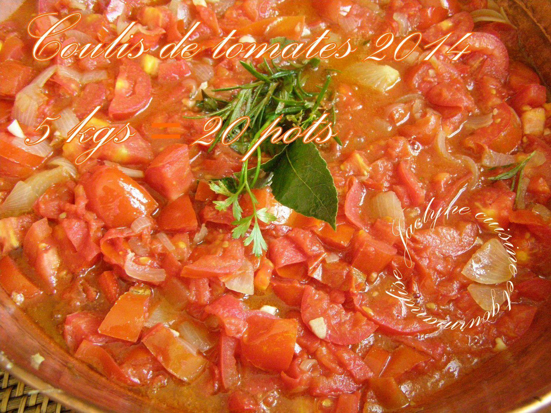 Coulis de tomates 2014 Faites comme les fourmis! Stockez pour l'hiver ...  Jaclyne www.cuisineetgourmandise.fr