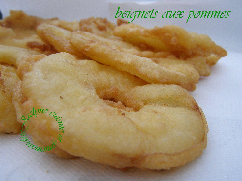 Beignets aux pommes Rapide, facile et tout le monde adore Jaclyne www.cuisineetgourmandise.fr