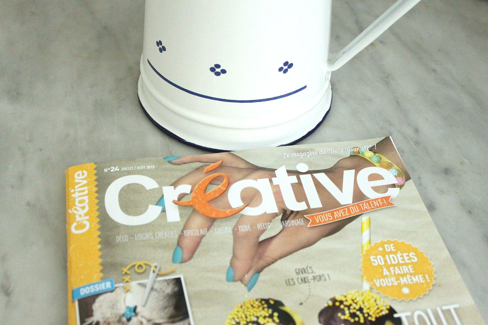 Abonnement au magazine Créative à gagner (terminé)