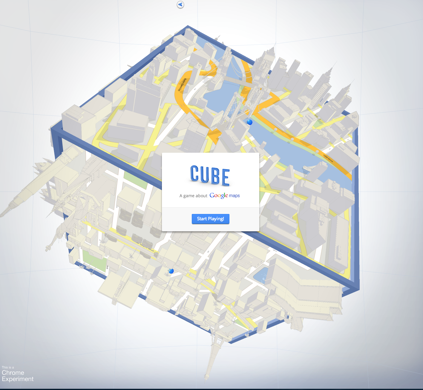 Le Cube by Google...