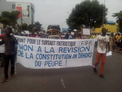 Humeur dans les rues:La démocratie en marche sous Talon