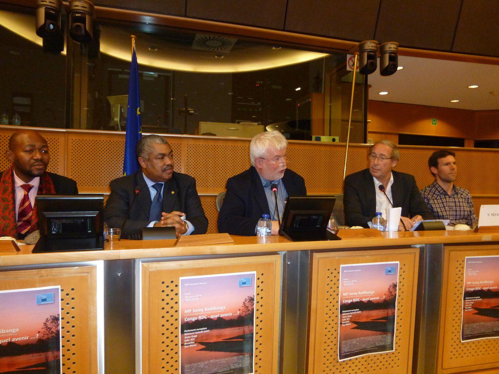 Sammy Badibanga au parlement européen: le mal en RD Congo, c'est la crise de légitimité