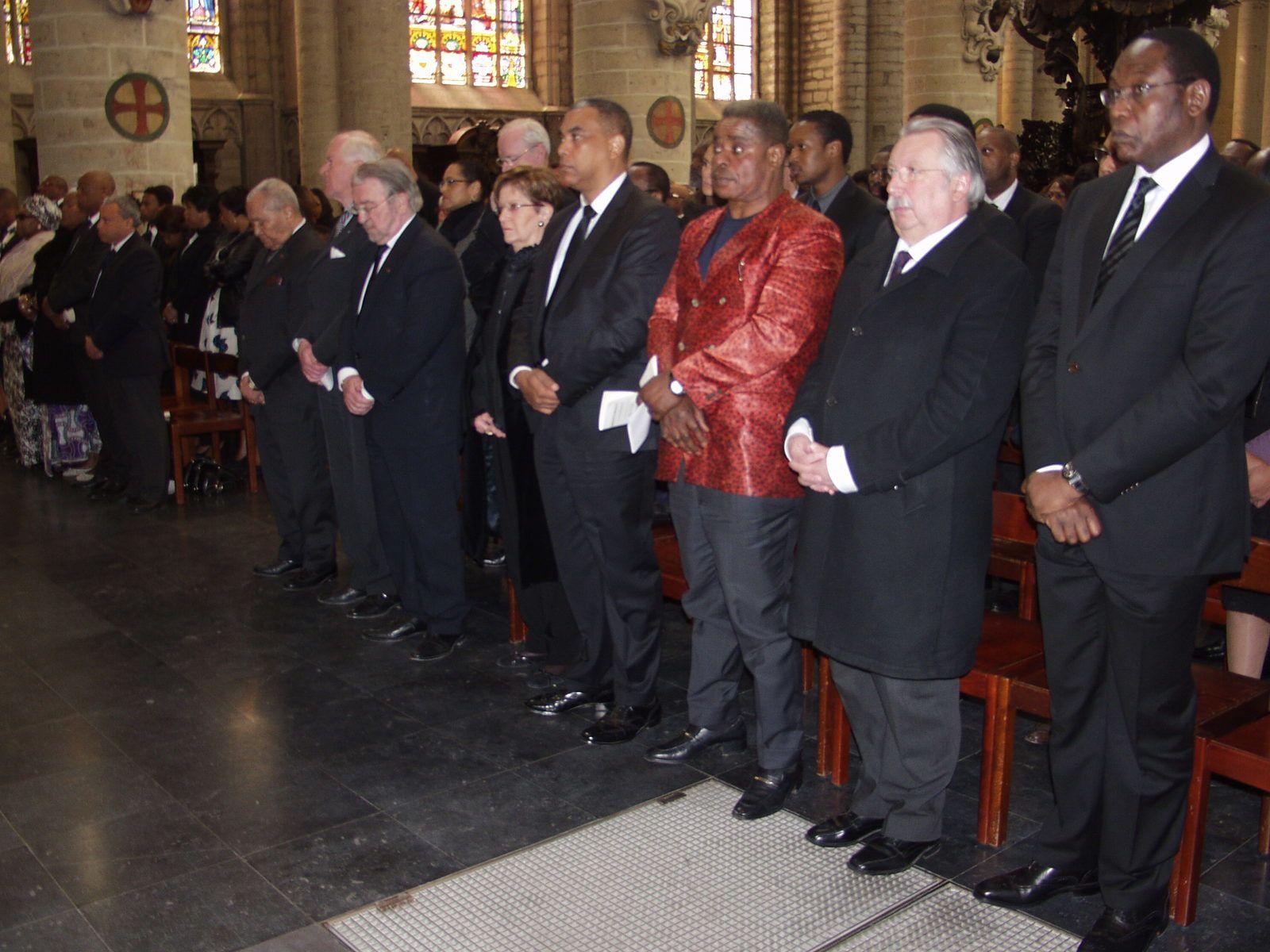 Bruxelles. Dernier hommage à Justin Marie Bomboko