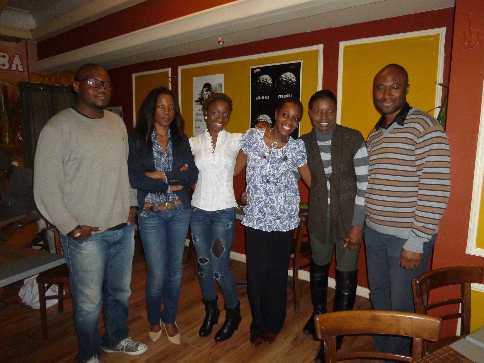 Théâtre.  Lancement du concept « la chèvre qui rit » par des artistes afro-bruxellois