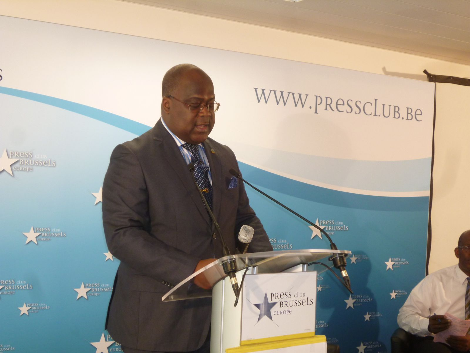 FélixTshisekedi à la presse nationale et internationale : Kabila maintient l'imposture par la force des canons