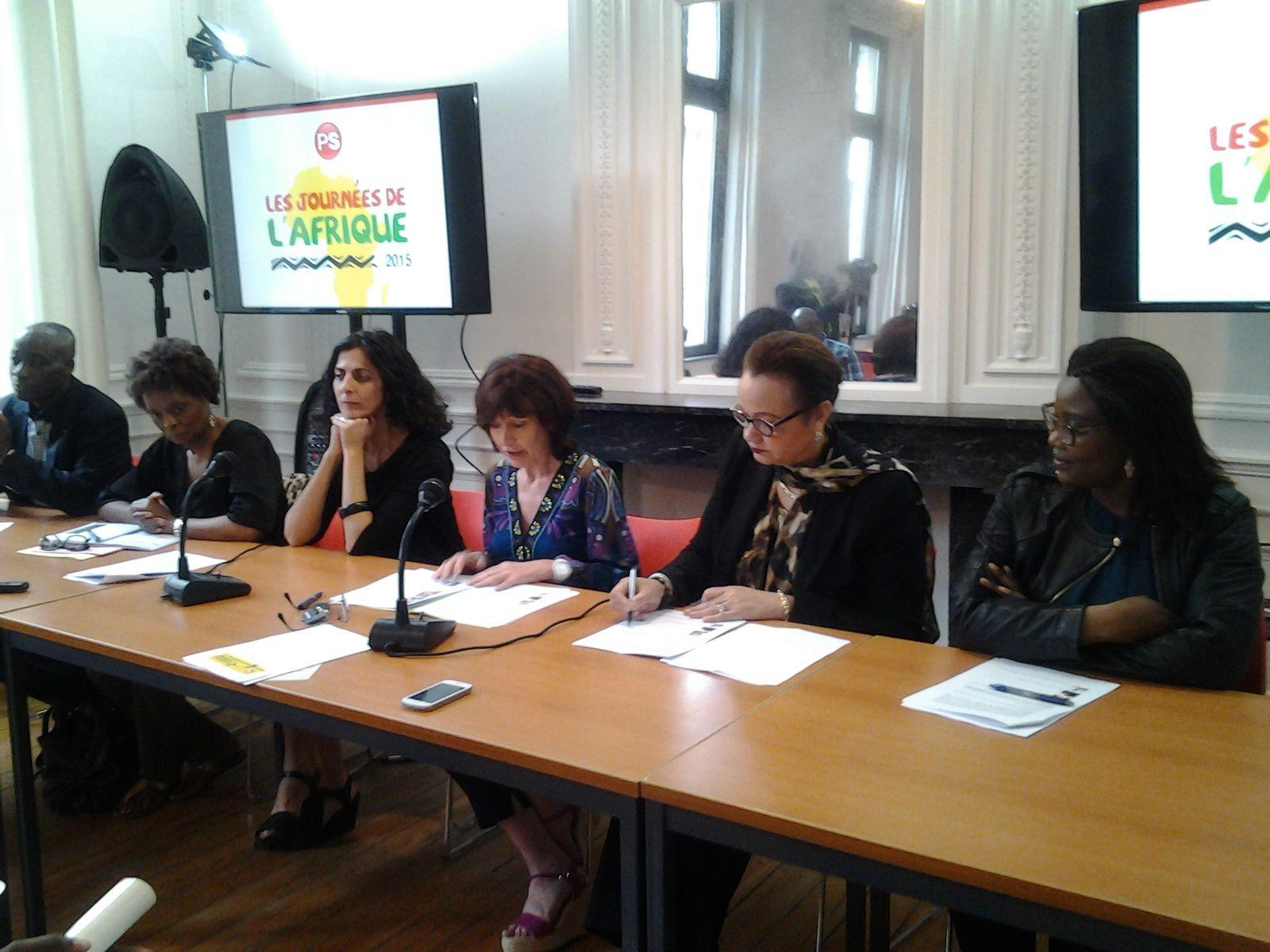 Journées de l'Afrique 2015 à Bruxelles, Laurette Onkelinx donne les lignes directrices