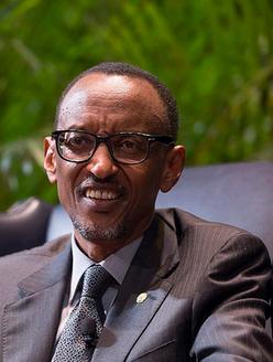 Paul Kagamé à Amsterdam le samedi 3 octobre 2015
