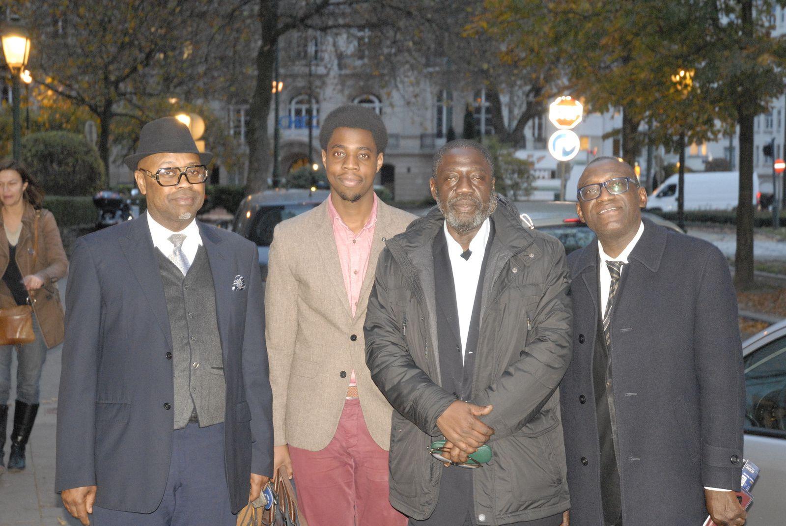 François Lumumba et Paul Nsapu reçus par Etienne Tshisekedi