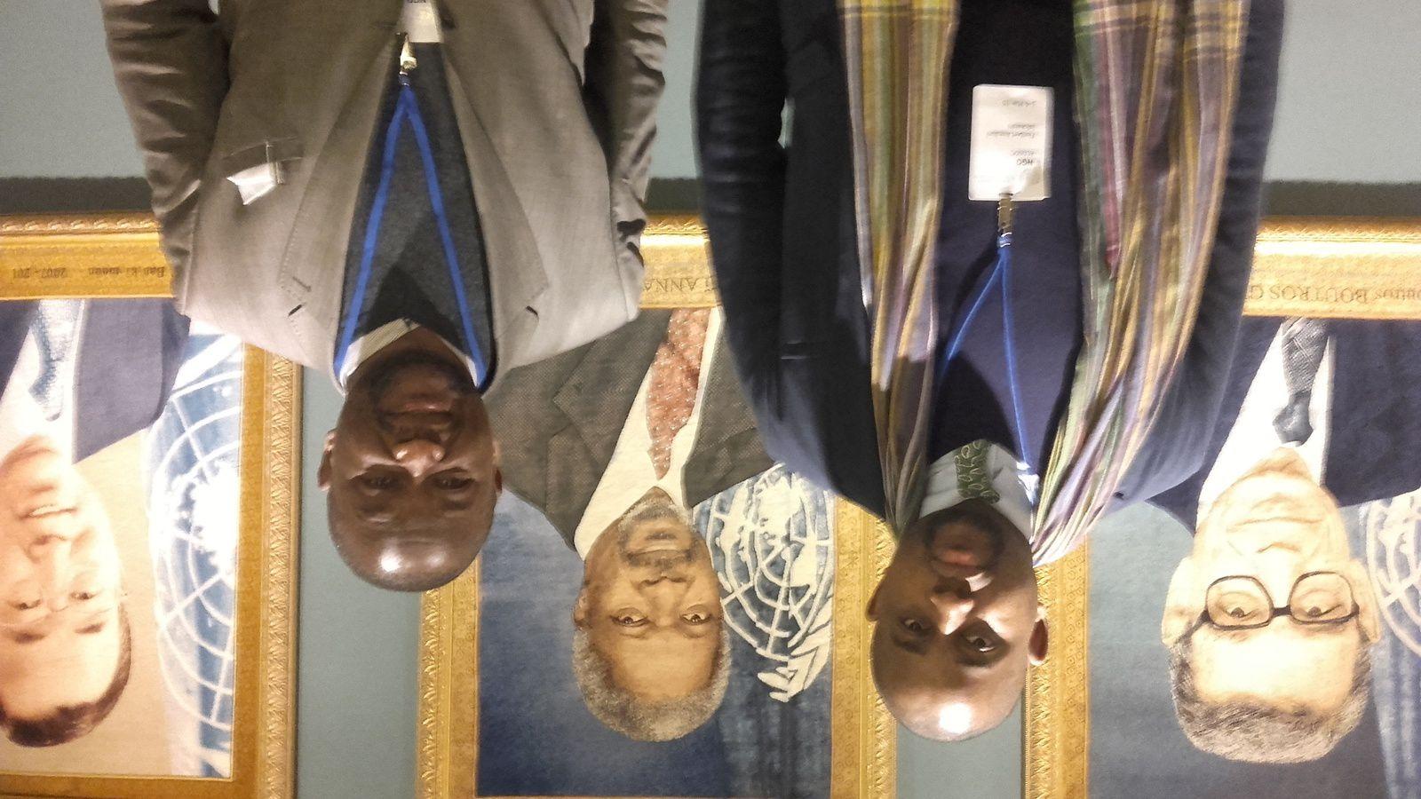 Floribert Anzuluni et Paul Nsapu de retour de New York, « Bientôt des pressions, pour l'alternance en RD Congo »