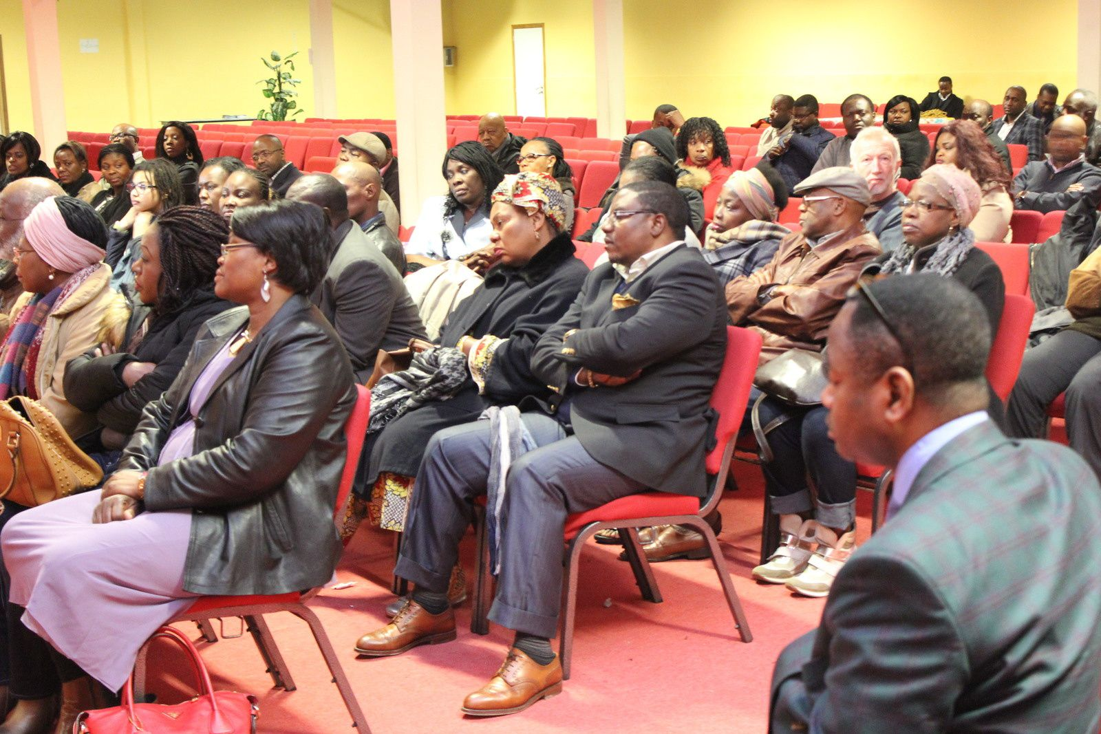 Association Internationale de la Diaspora Congolaise, mise en place du bureau Belgique