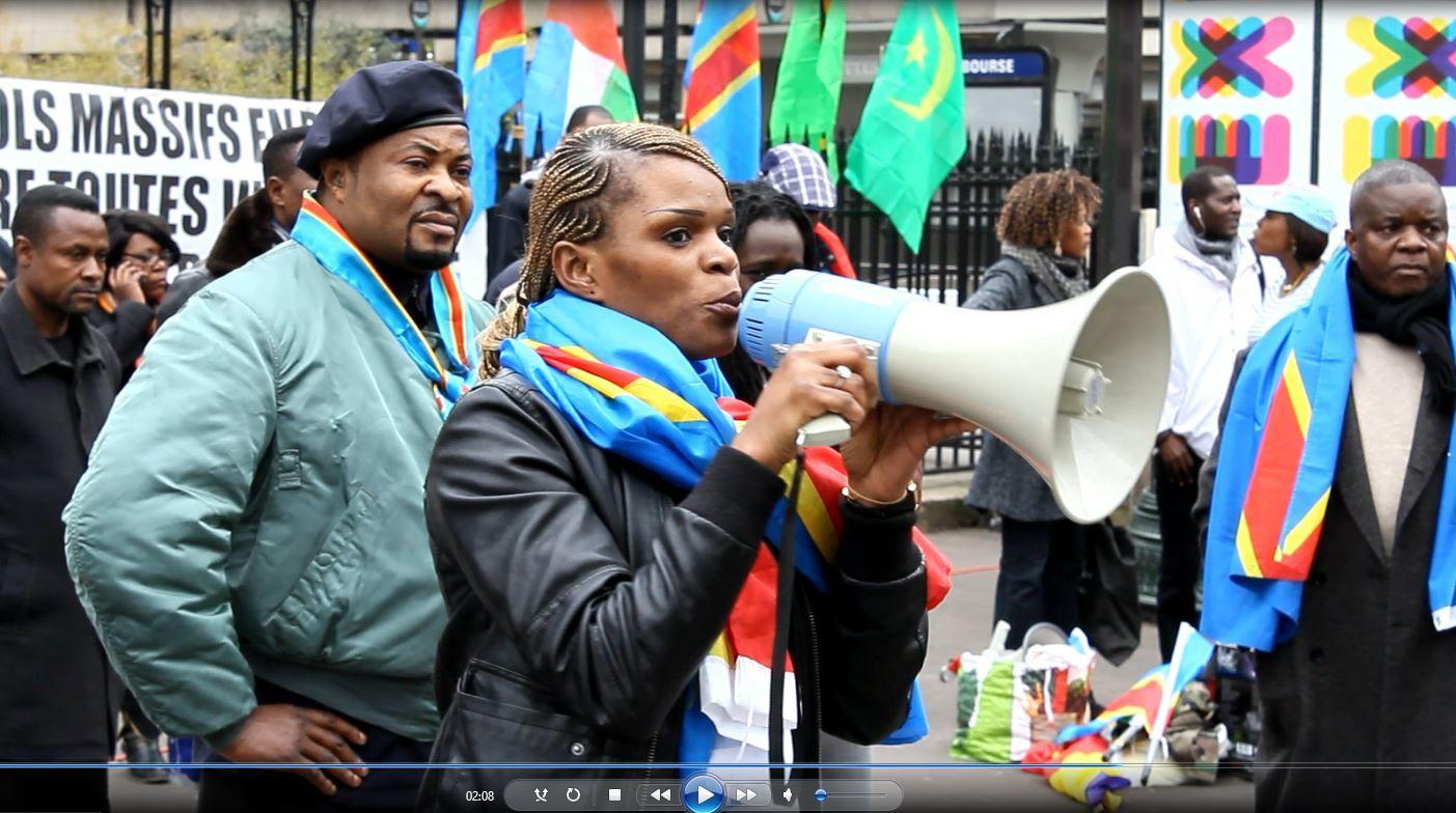 Paris. Quand une femme mobilise pour le changement en RD Congo