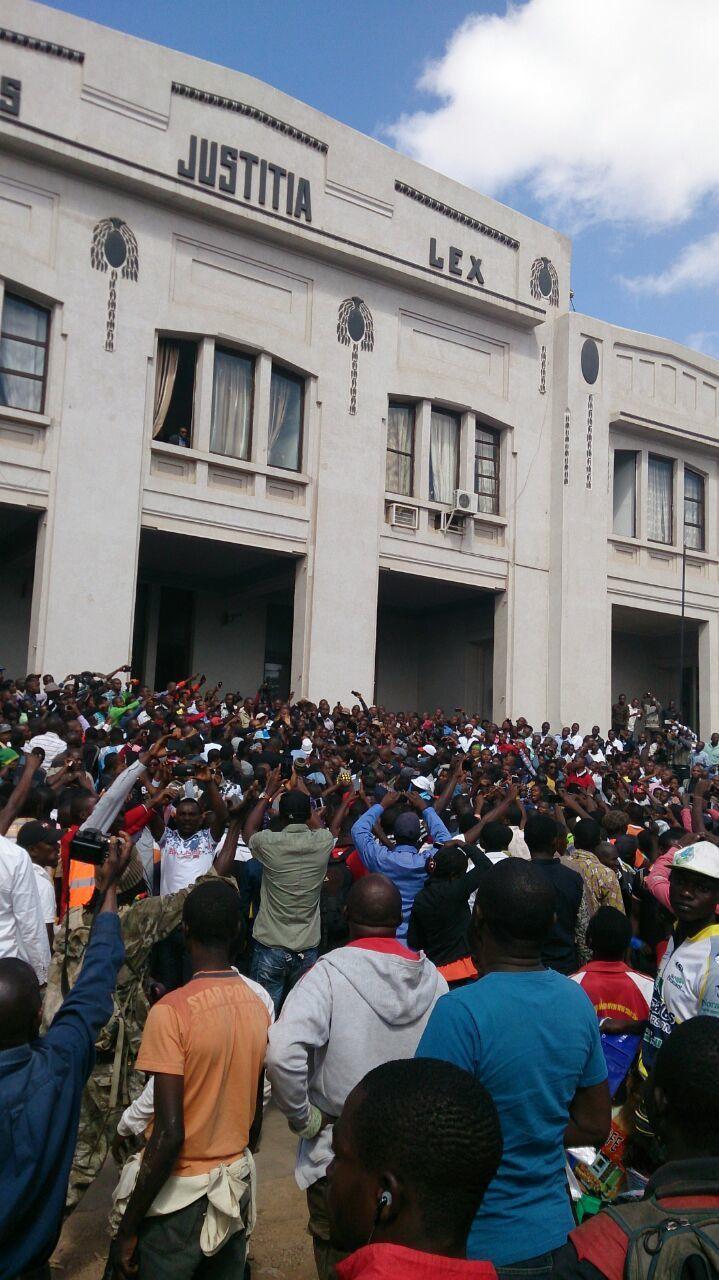 Parquet de Lubumbashi , audition de Moïse Katumbi