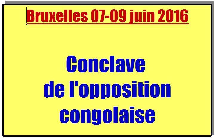 Conclave de l'opposition congolaise à Bruxelles, parler d'une seule voix