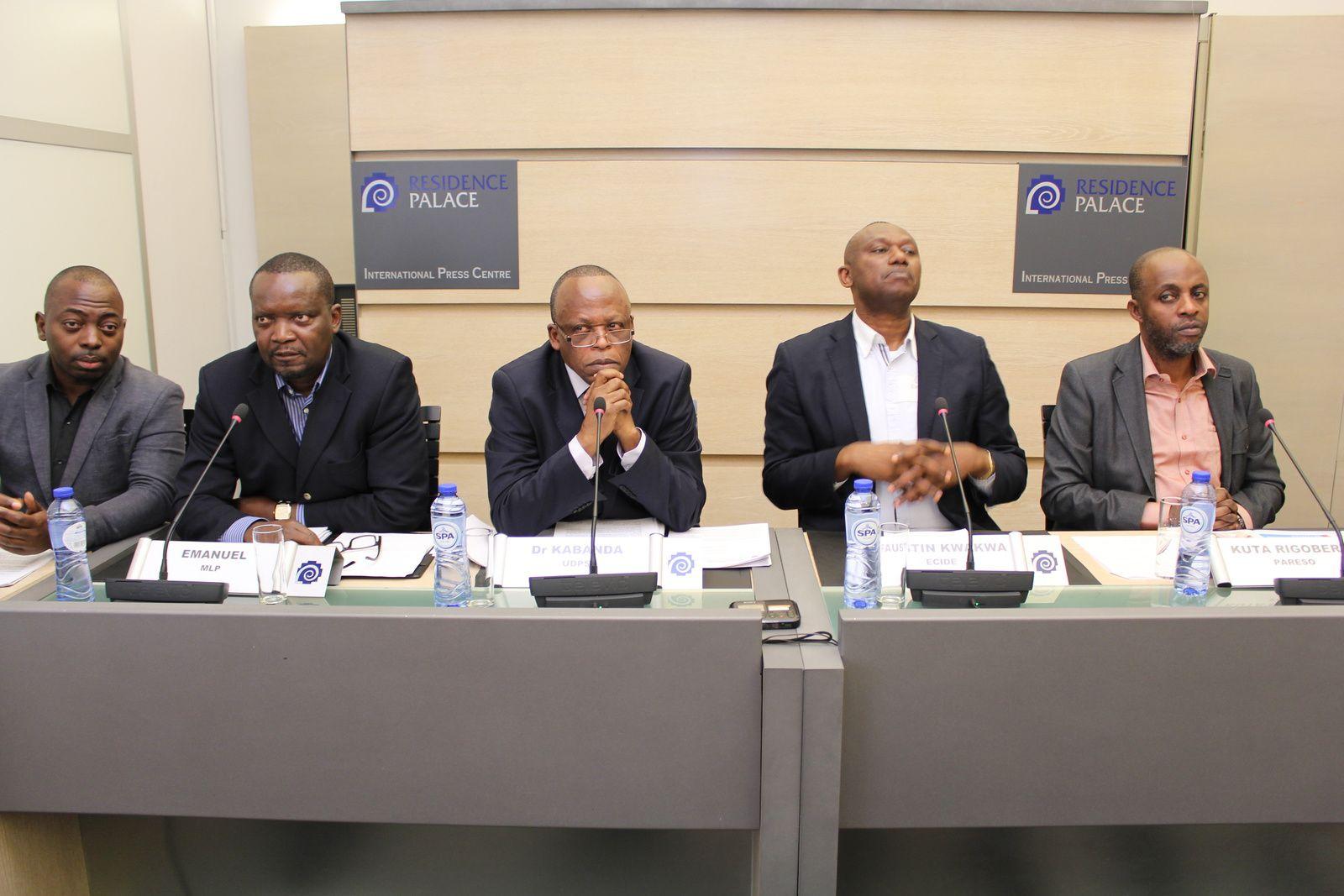 Rassemblement-Belgique : « J. Kabila, la CENI ont commis un acte de haute trahison »