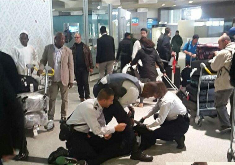 Kalev Mutond agressé à l'aéroport de Paris