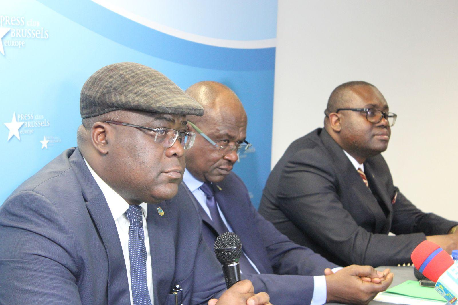 Bruxelles, Félix Tshisekedi lève un coin de voile de la gestion du pays à l'après-Kabila