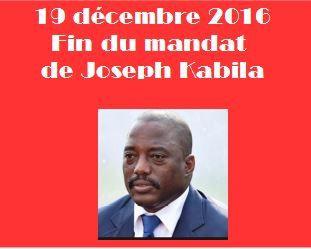 Lundi 19 décembre 2016, fin de mandat pour Kabila. Film de la journée