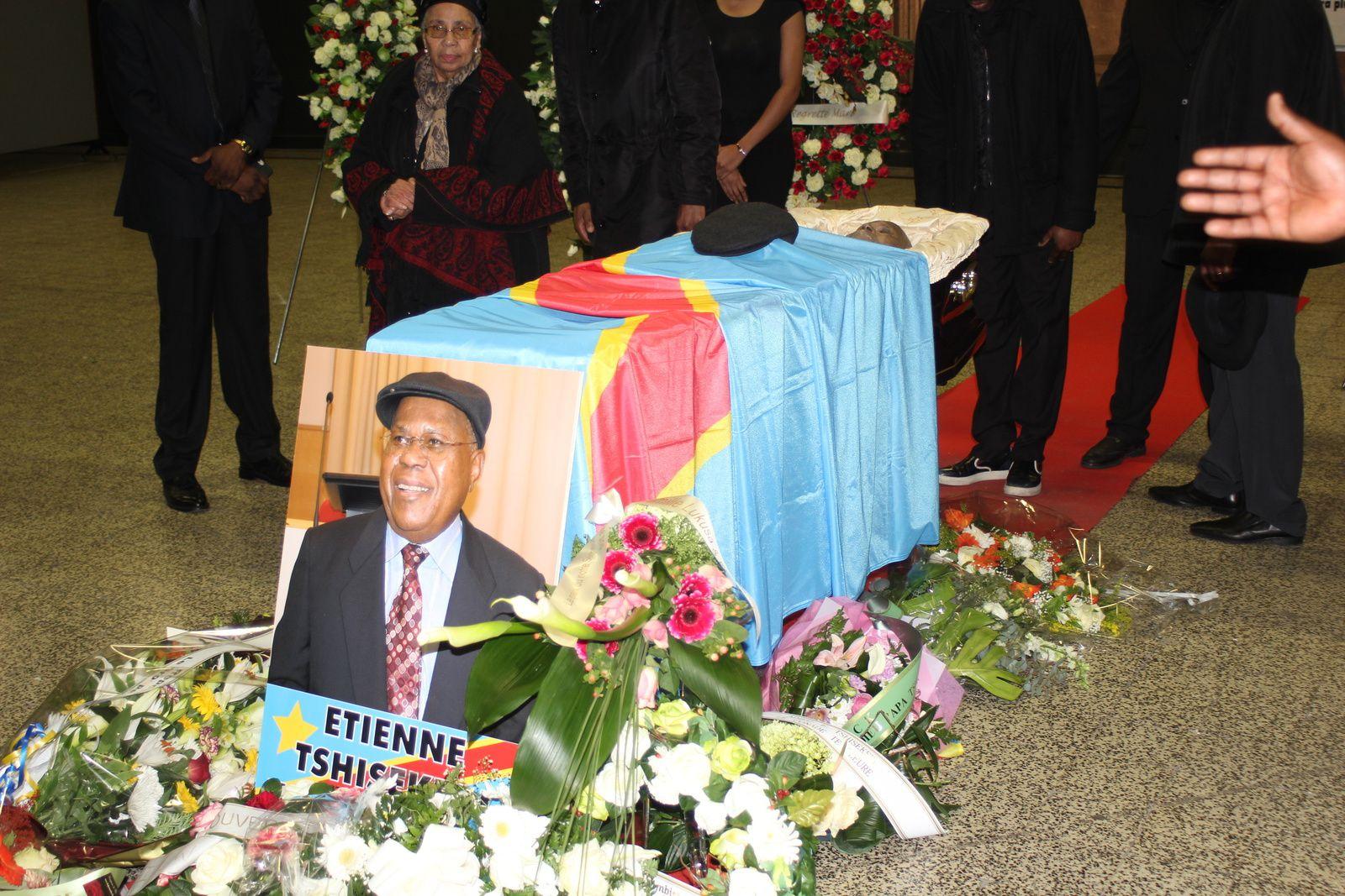 Foule immense au Heysel pour Tshisekedi