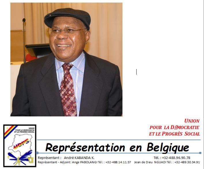 Funérailles d'Étienne Tshisekedi, communiqué de l'UDPS-BELUX
