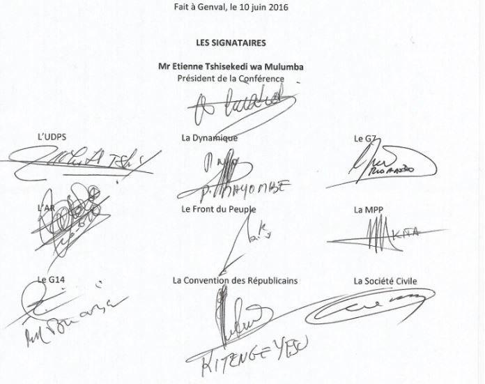 Halte au débat de caniveau: voici les signatures ayant créé le « Rassemblement »