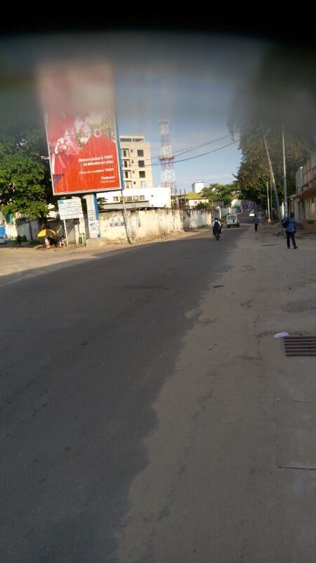 Images de Kinshasa le lundi 10 avril 2017