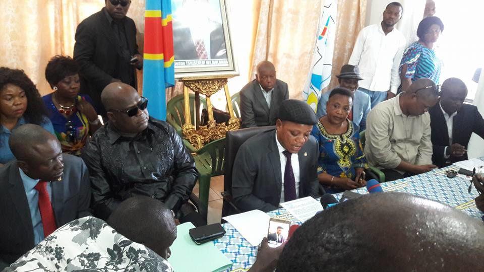 Flash. 12 mai 2017, arrivée du corps d'Etienne Tshisekedi à Kinshasa