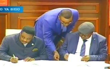 Imposture: Olenghankoy et Lisanga Bonganga signent l'arrangement particulier versus clan Kabila
