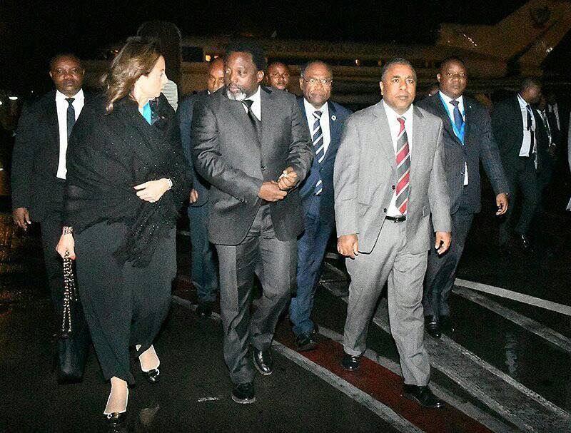 Joseph Kabila, l'image qui fait jaser