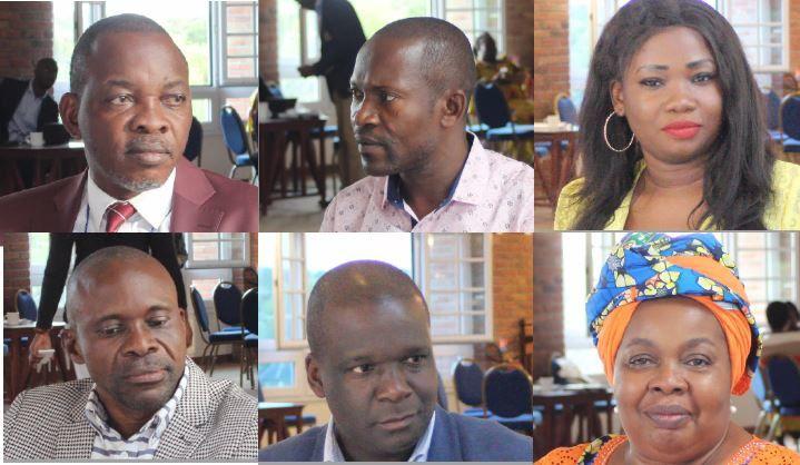 «Esili», regards croisés. Mike Mukebayi, Daniel Safu, Gérard Bisambu, Léonie Kandolo, Ch. Vuanga, JJ Wondo