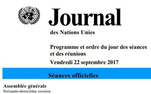 72è session de l'AG de l'ONU, Joseph Kabila parle le 23 septembre à 9h00