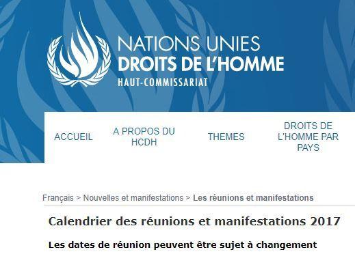 Conseil des Droits de l'Homme de l'ONU, la RD Congo élue