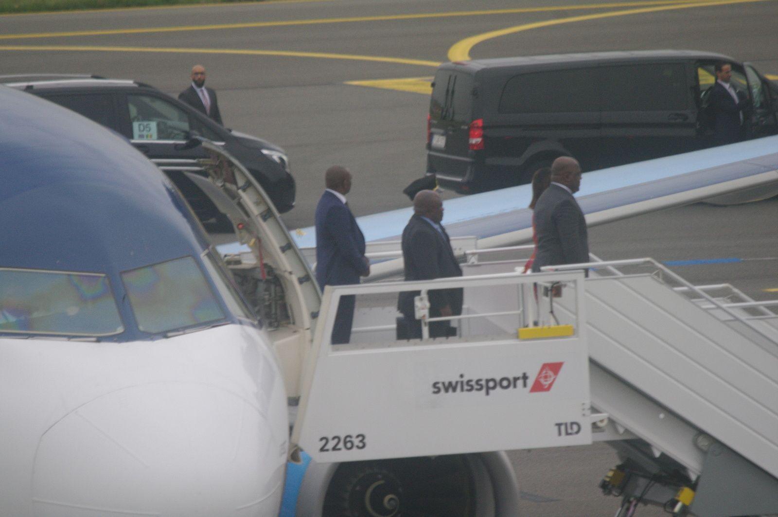 Félix Tshisekedi à Bruxelles en Chef de l'Etat