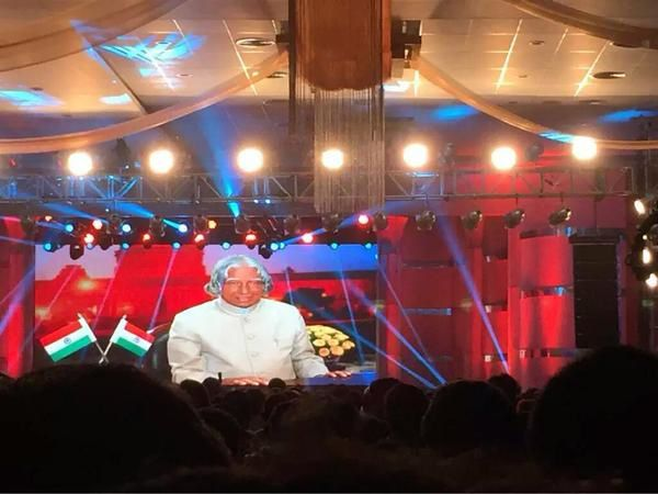 PULI AUDIO LAUNCH - ONE MINUTE SILENCE FOR ABDUL KALAM SIR !