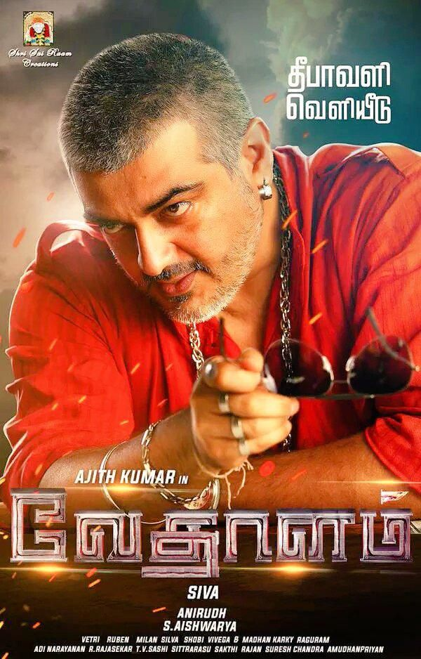 AJITH IN &quot&#x3B;VEDHALAM&quot&#x3B; - FIRST LOOK !