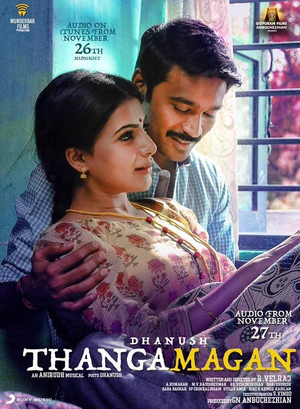 THANGAMAGAN NEW POSTERS !!!