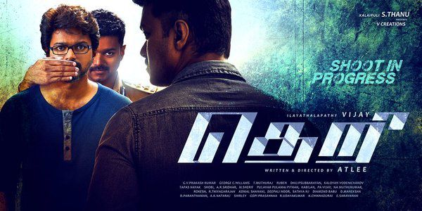 Theri posters 2
