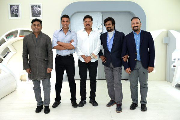 ENTHIRAN 2 TEAM IS BACK !!!!