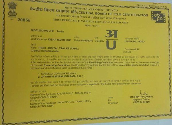 THERI TEASER U CERTIFIED !!!