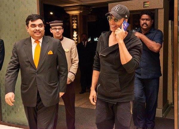 AKSHAY KUMAR à Chennai pour le tournage de &quot&#x3B;2.0&quot&#x3B;