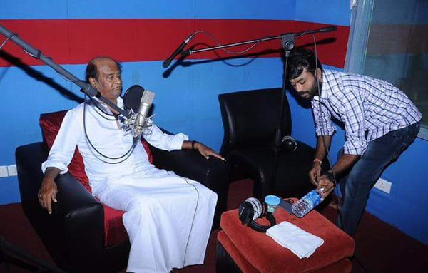 KABALI DUBBING STARTED !